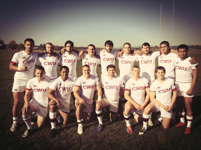 CWU 7s Team photo 2013